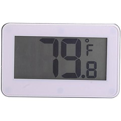 aihometm frigorifero termometro impermeabile frigorifero congelatore termometro con Display LCD