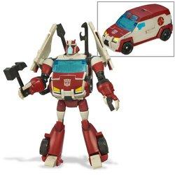 nimated Autobot Ratchet Figur Deluxe Class Autobot ()