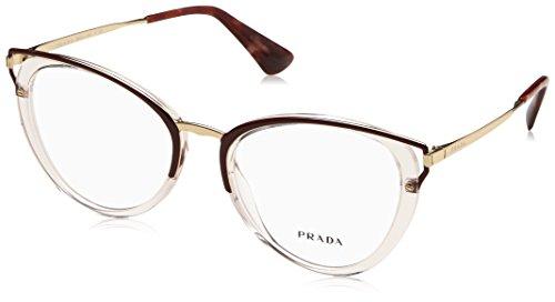 Prada Brillen WANDERER EVOLUTION PR 53UV TRANSPARENT BROWN Damenbrillen