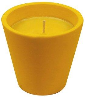 CERAS ROURA 1 x Outdoor Candles Caribe CITRONELLA Candela in Vaso di Terracotta, 20 Ore (Colori Assortiti)