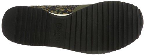 Blauer USA New Runnin, Sneaker Basse Uomo Grün (Tarmac Camuflage)
