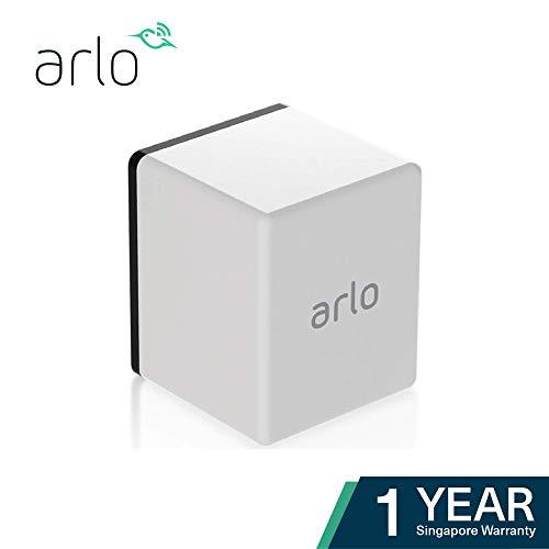 Arlo Pro Zusatz Akku Zubehör (offiziell, Ladestation als zusätzliche Option erhältlich) weiß, VMA4400