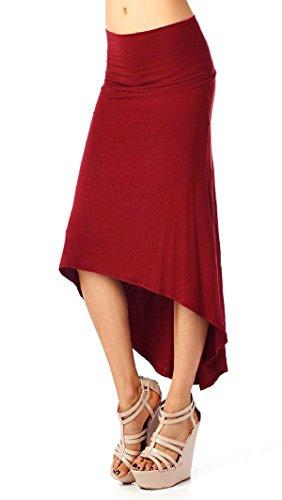 aivtalk-falda-de-tubo-larga-media-falda-plisada-con-volante-drapeado-elastico-slip-dress-estilo-casu