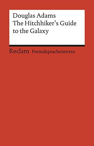 Preisvergleich Produktbild The Hitchhiker's Guide to the Galaxy (Reclams Universal-Bibliothek)