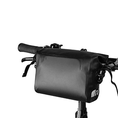ZFW Faltende Autotasche, Fahrrad-vordere wasserdichte PVC-Schultergurt-Fahrrad-Lenkertasche, Fahrrad-Tasche, Moderne Einfachheit, Mode