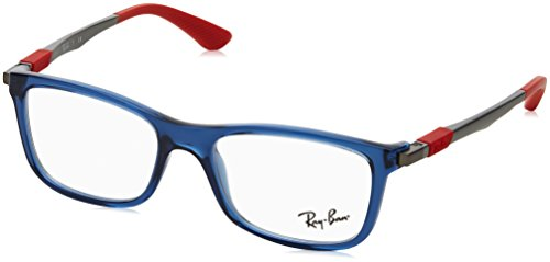 Ray-Ban Unisex-Kinder 0RY 1549 3734 48 Brillengestelle, Blau (Transparente Blue),