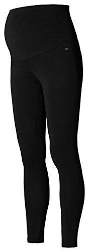 ESPRIT Maternity Leggings Cotton/Mix Damen Umstandsmode Strümpfe/ Strumpfhose M84101-schwarz-L/XL