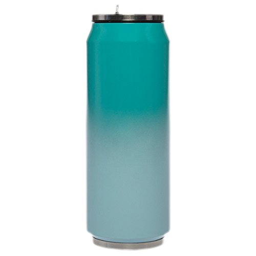 Primula oz SIP isoliert Wasser Flasche Edelstahl Vakuum Travel Tumbler bleiben kalt Flip Top Cup Teal Ombre