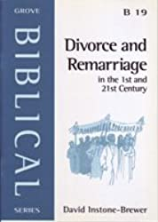 Divorce and Remarriage: In the 1st and 21st Century (Biblical)