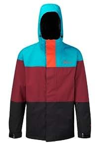 Westbeach Men's Maverick Snowboard Jacket  - Sinatra Blue, Small