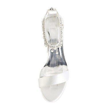Pour Summer Femmes Chaussures Stretch Satin Decolleté 4u Best wZv1EE
