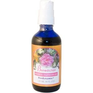 Flower Essence Services Benediction oil Pump top