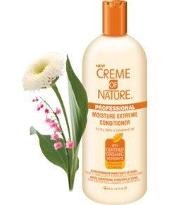 Creme of Nature - Chamomile & Comfrey Moisture Extreme Conditioner - Après-shampooing hydratant profond - 591ml