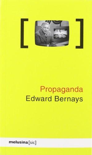 Propaganda 2ヲed ([sic]) por Edward Bernays