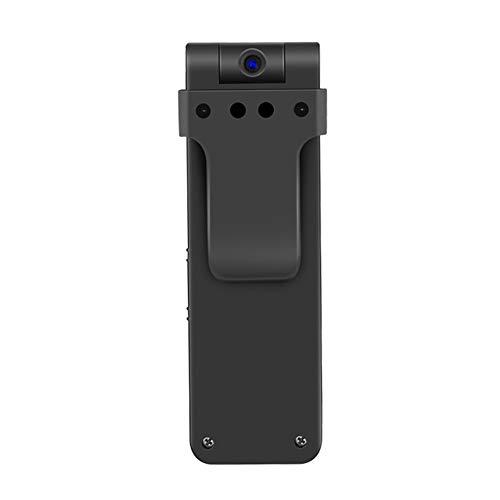 OMZBM Mini Recorder Hidden 1080P HD Cam 270 Grad Rotazione Mit Tragbaren Body-Getragenen Clip-Spionage-Kamera Mit Einem Knopf Schnelle Aufzeichnung (Zwei Modi), 64GB Speicherkarte
