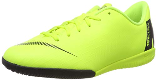 Nike Unisex-Kinder Jr. MercurialX Vapor XII Academy GS IC Fußballschuhe, Schwarz (Volt/Black 701), 34 EU (Nike Tempo Schuhe Fußball)