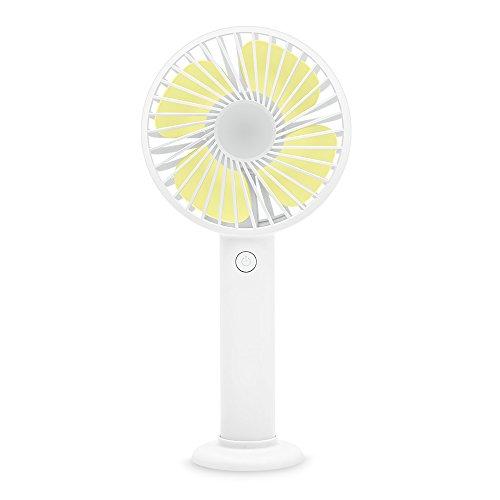 Shuer Mini Ventilador USB, Mini Fan Pequeño y Potente,para Hogar,Oficina y Viajes...