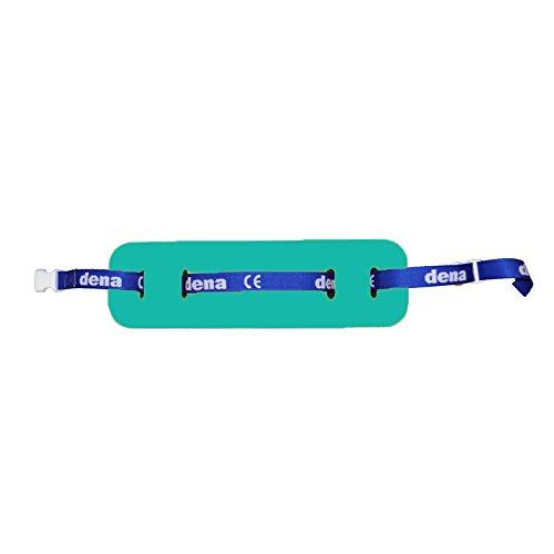 Schwimmgürtel Kleinkind Schmal mit Sicherheitsverschluß 100cm 0-4 Jahre verstellbares Gurtband. Auftriebshilfe. NEU&Original (Grün) -