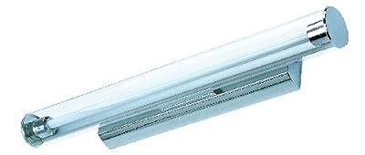 Große Energiespar-Badleuchte Badlampe Spiegelleuchte inklusive Energiespar-Leuchtmittel Spiegellampe Bad-Wandleuchte Wandlampe Badezimmerlicht 5849