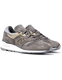New Balance 997 Made in the USA Khaki, Grey & Beige Trainers