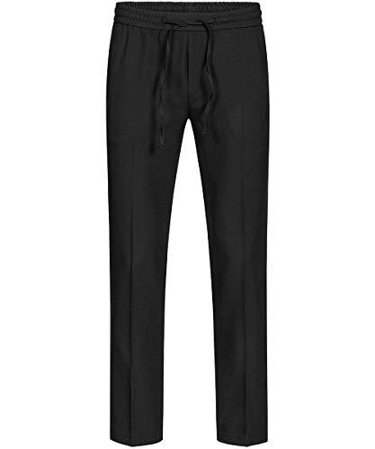 GREIFF Herren Joggpant Service Kostüme & Anzüge 8362 Regular Fit, Farbe: Schwarz, Größe: - 50 Kostüm Für Herren