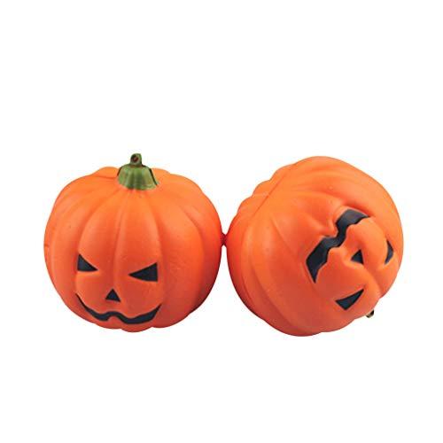 Myspace 2019 Neueste Dekoration für Halloween 2/3/6/7/8/9/10 STÜCKE Halloween Künstliche Kürbis Gefälschte Requisiten Garten Wohnkultur - Holloween Kostüm Für Zwei
