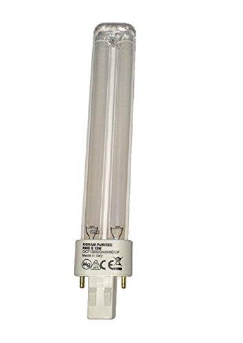 Osram Puritec HNS S 13 W GX23, Leuchtstofflampe, UV-Entkeimung, UV-Desinfektionslampe, Ultraviolettstrahler, Luft, Wasser- und Oberflächenentkeimung