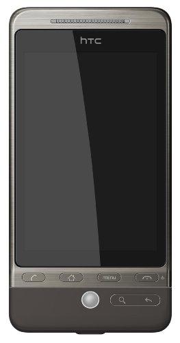 HTC Hero Smartphone (Android, 5MP Kamera, GPS, WLAN) silbergrau