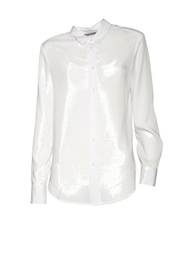 FILIPPA K Damen Bluse Drapey Shirt in Weiss 1009 white