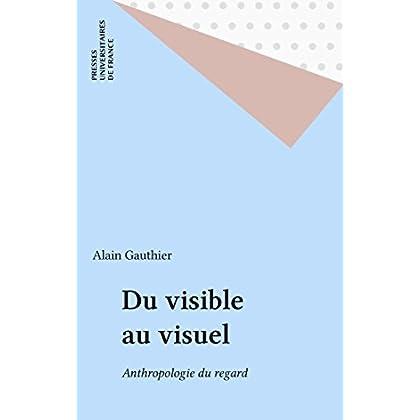 Du visible au visuel: Anthropologie du regard (Sociologie d'aujourd'hui)