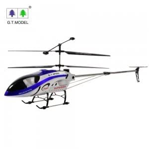 QS 8008 3.5 Channel Radio Control RC Helicopter with Gyro Blue (EU)