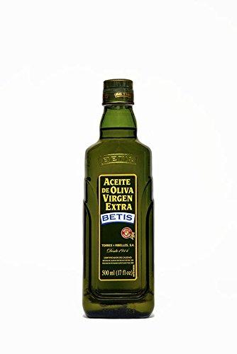 BETIS - Aceite de Oliva Virgen Extra - 500 ml en botella de cristal