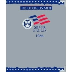 The Official U.S. Mint Silver Eagles Coin Album: 1986- -