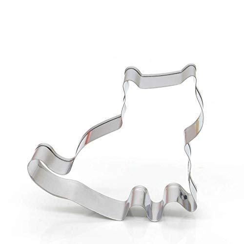Lorsoul Katze-Form-Form-Kuchen-Fondant-Form-Weihnachts Kuchen, die Werkzeuge Zuckerpaste Ausstechform Backform – 7 * 7.5cm