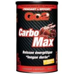 Boisson énergétique GO2 - CarboMax fruits rouges - Pot