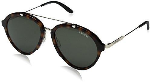 Carrera Sonnenbrillen für Männer 54 mm Havana Gold/Grün