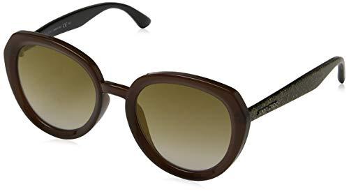 Jimmy Choo Damen MACE/S JL DXJ 53 Sonnenbrille, Braun (Brwgltt Gold/Bw Black Brown),