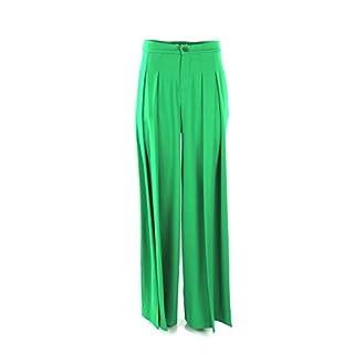 Kocca Pantalone Donna 44 Verde Avel Primavera Estate 2019