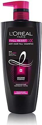 L'Oreal Paris Fall Resist 3X Anti-Hairfall Shampoo, 640ml (With 10% Ex