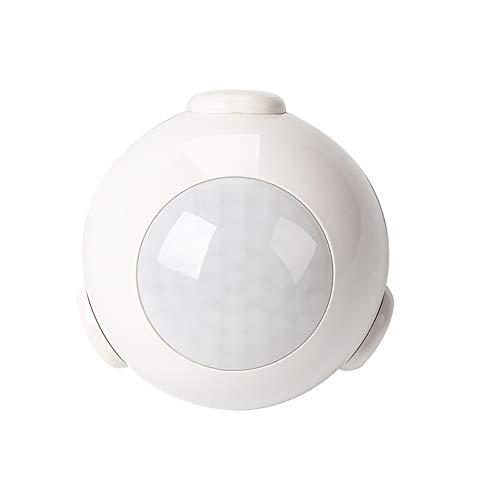 lder, Z Wave Plus Motion Sensor Smart Infrarot Detector Home Automation Empfindlichkeit Bewegungssensor mit Alarm System Drahtlose Benachrichtigung - Weiß ()