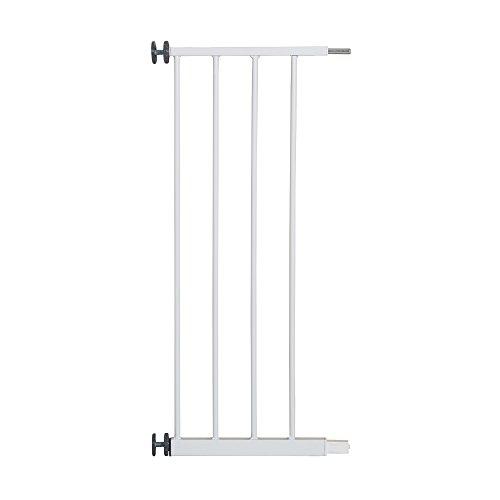 roba Schutzgitter-Erweiterung für Tür- und Treppenschutzgitter 'Safety Up' in Weiß, Anbauteil aus Metall, vielfältig kombinierbar mit weiteren Verlängerungen, 28 cm