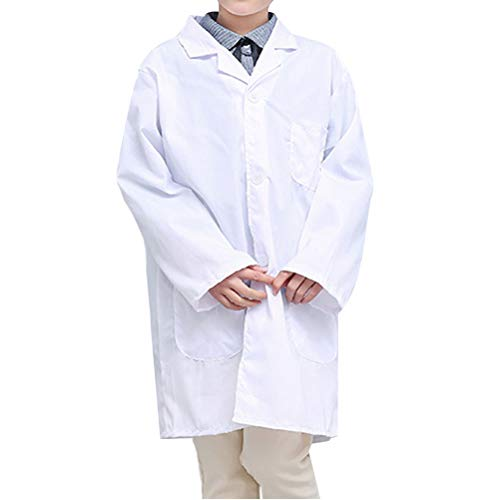 ay Kostüm Doctor Rollenspiel Mantel Lab Outfit für Cosplay Party Kostüm ()
