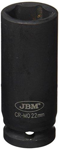 'Long JBM 12070 - Douille à chocs 6 pans 1/2, 22 mm)