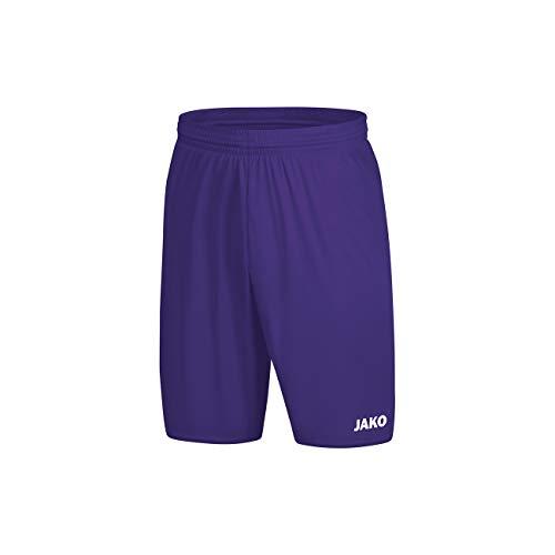 JAKO Herren Manchester 2.0 Sporthose, lila, XL (Lila Männer Hose)