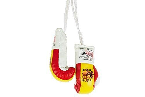 RingMasterUK – Mini guantes de boxeo para colgar en el retrovisor del coche o de la furgoneta, Spain
