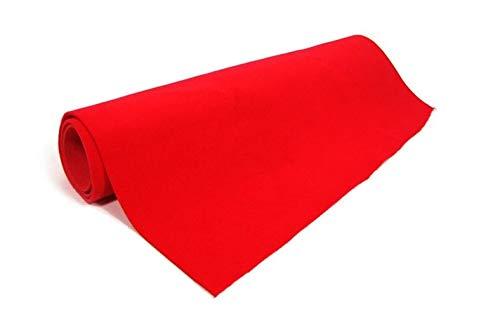Rotolo passatoia mt.10x1 rosso tappeto red carpet per natale cinema festa