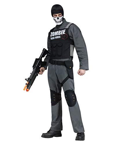 Kostüm Jäger Zombie - Horror-Shop Zombie Jäger Verkleidung als Kostüm für die Halloween Party | One Size
