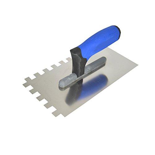 Zahnkelle Zahnspachtel Glättekelle gezahnt Zahnung 12x12mm Modell