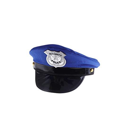 Polizei Cop Kostüm - Amosfun Cosplay Kostüm Polizei Hut Cop