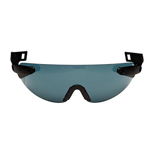 3M V6B Integrierte Schutzbrille für Schutzhelm, Grau